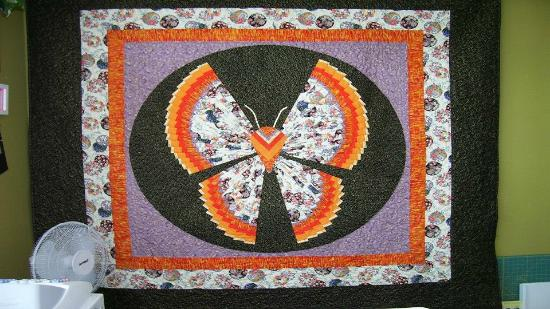 Sand Springs, Оклахома: Butterfly Quilt