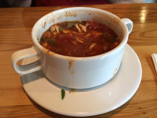 Chestertown, Мэриленд: Maryland Crab Soup - lots of crab and fresh veggies, Delicious!!