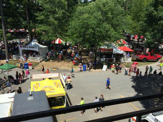Hilton Garden Inn Saratoga Springs: Saratoga Race Course is like a giant festival
