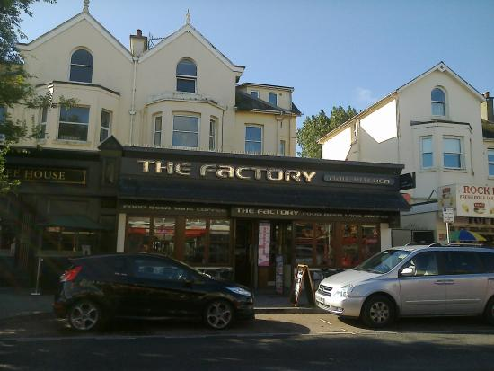 Location DirectLink g d i Factory Bar Kitchen Paignton English Riviera Devon England 1883