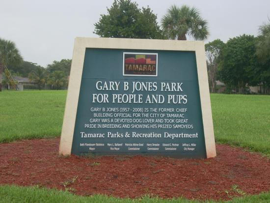 Tamarac, FL: Entrance Sign
