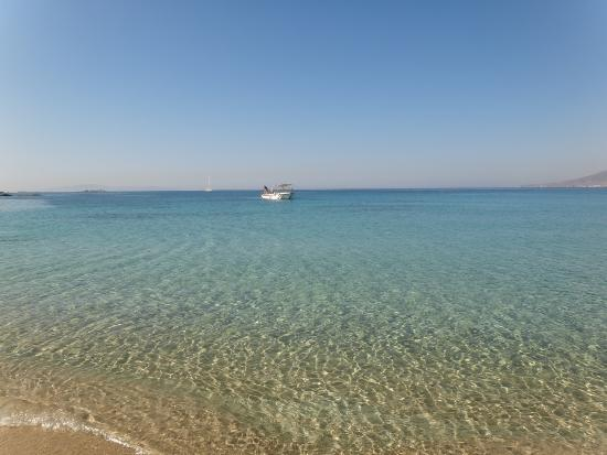 Ioanna Studios and Apartments: Praia de Agios Prokopios... Linda!