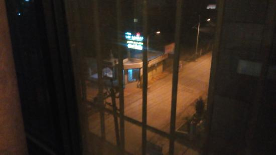 Hotel Sai Balaji : view from window.. fresh breezes welcomes u