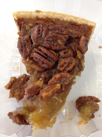 LaFayette, GA: Pecan Pie done right and a decadent Almond Joy cupcake.