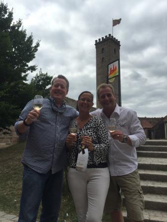 Hotel Burg Abenberg: The Owners and wonderful Host/ess Christian & Ilona!