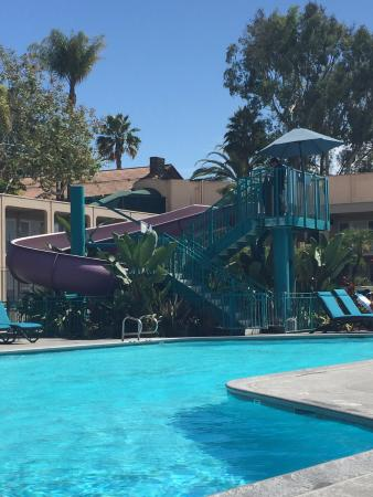 Hyatt Regency Newport Beach Big Pool With Water Slide