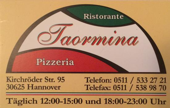 Restaurante Taormina Inh. A. Colianni