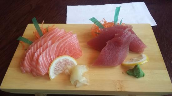 łosoś i tuńczyk