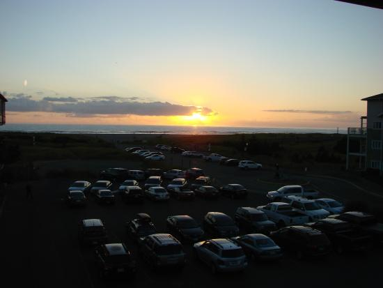 Sunset From Our Room Adrift Hotel Long Beach Wa Picture