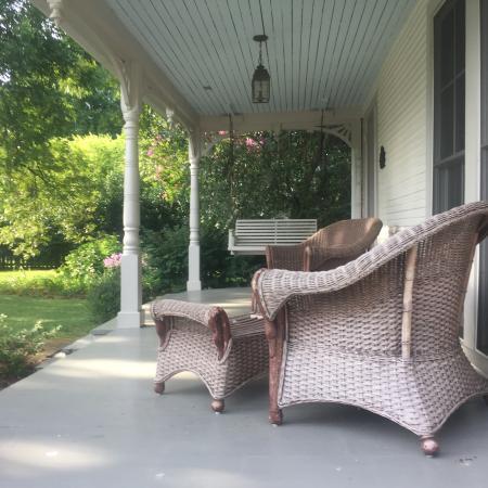 Oxford, Мэриленд: Sitting Porch
