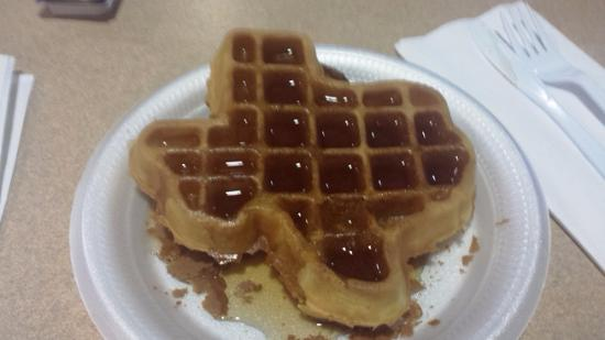 Quality Inn & Suites Canton : Oops. Too much syrup, but still good.