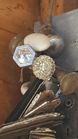 Woody Island Resort: A gathering of doorknobs