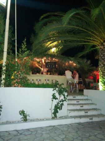 Athos Hotel: Il bar in piscina