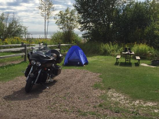 Camp Site - Picture of Grand Marais RV Park and Campground