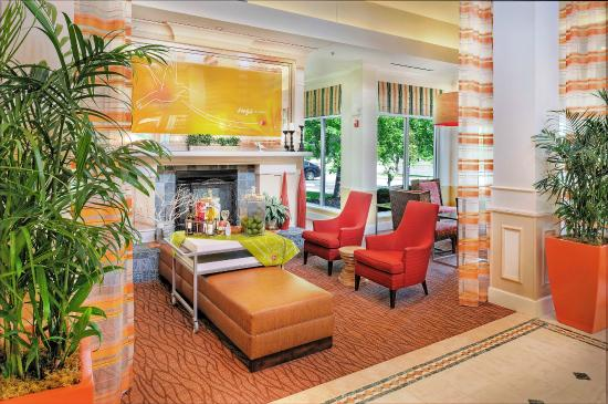 High Quality Hilton Garden Inn St. Louis Chesterfield: Lobby Nice Design