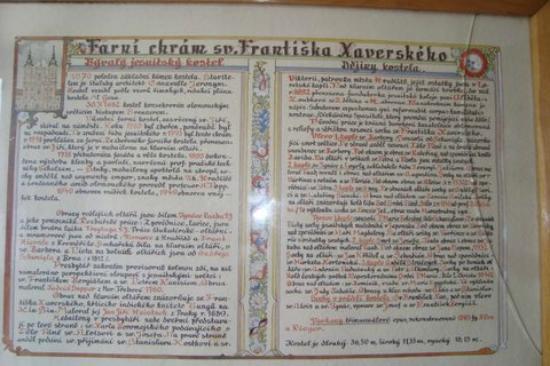 Uherske Hradiste, República Checa: dejiny kostola