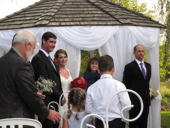 Outdoor Country Wedding Exquisite Photo De Auberge Des
