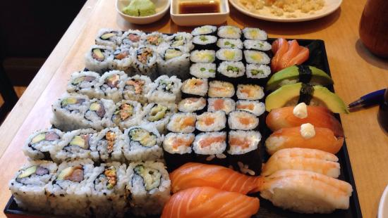 All You Can Eat Sushi And That Was Just For The Two Of Us