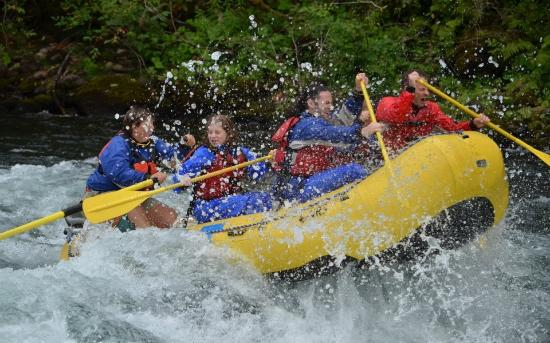 Eugene, OR: Whitewater Rafting on the McKenzie River