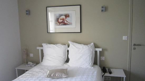 Hotel Le Saint Aubin: Chambre