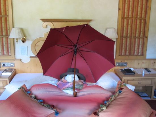 Aktiv- & Wellnesshotel Bergfried : Hotel kamer