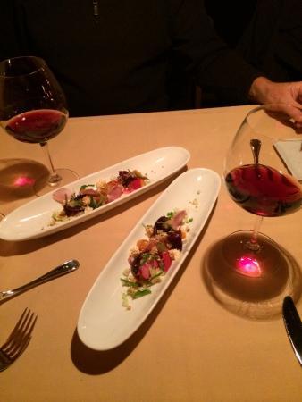 The Lakefront Restaurant : Winter Menu:  Beet Salad to Share