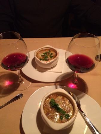 The Lakefront Restaurant : Winter Menu:  French Onion Soup