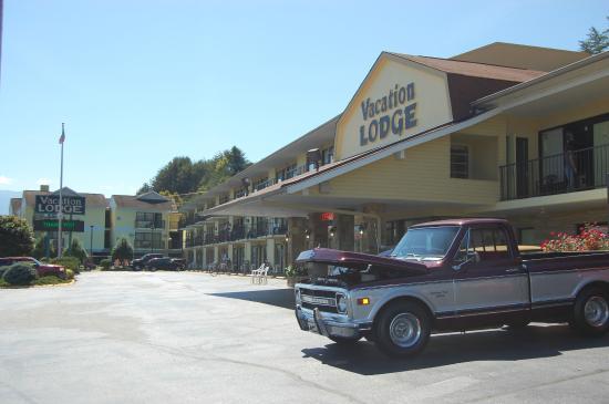 Vacation Lodge: entrance