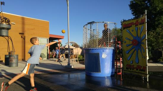 Grand Junction, CO: Dunk Tank at Company Picnic