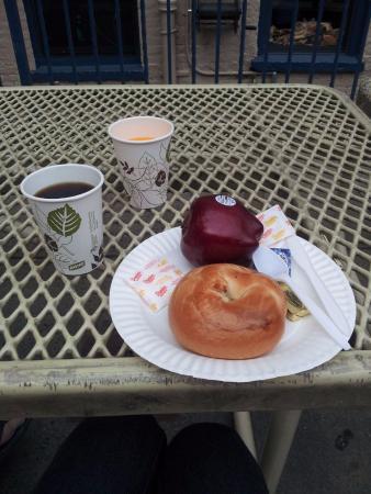 Chelsea Hotel: Desayuno