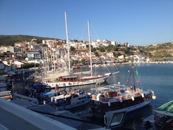 Hotel Damo : Utsikt från balkongen