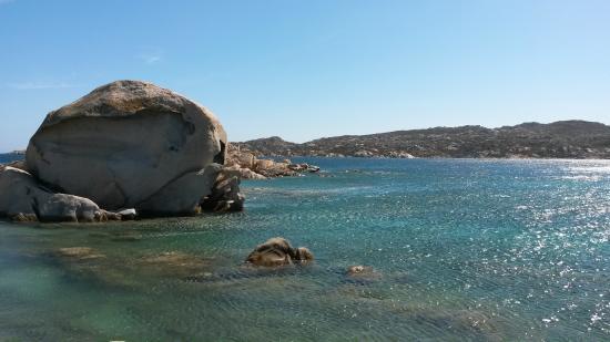 Hotel Delle Isole: Spiaggia Testa del Polpo