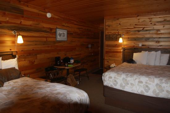 Powell, ID : Our lodge room view