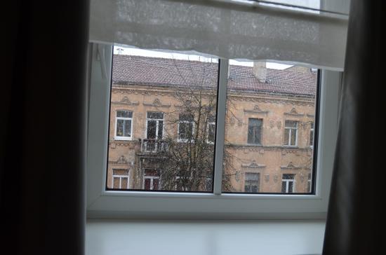 Algirdas City Hotels: вид из окна