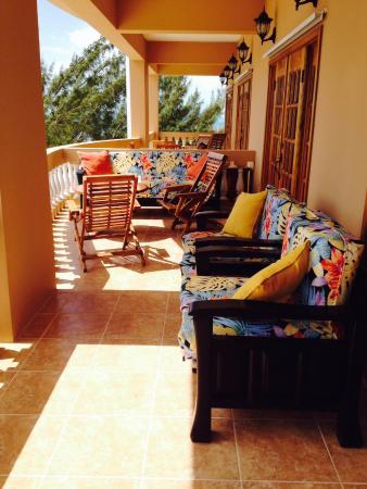 Hol Chan Reef Villas: 4A  Balcony