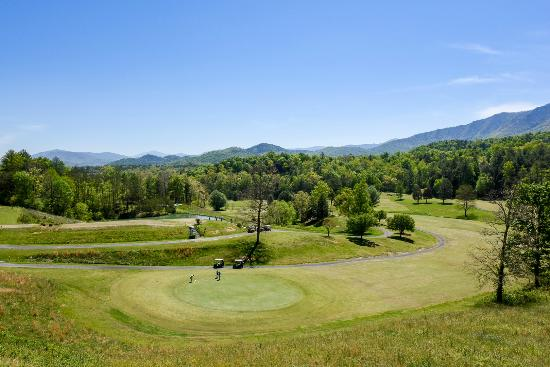 Laurel Valley Golf Course : #18 Green