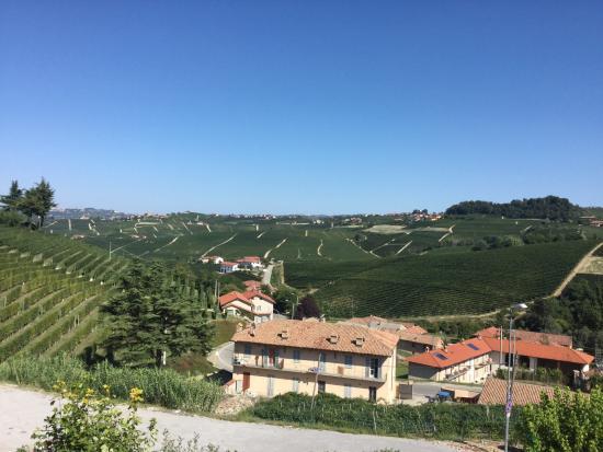 Hotel Barolo: View