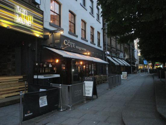 Cote Brasserie - Cardiff Central: Outside of restaurant