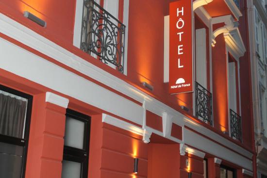 Hotel de France : Fachada hotel