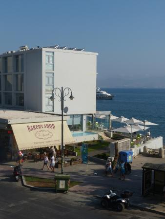 Triton Hotel: View from balcony