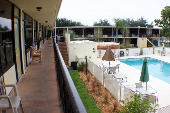 3 Palms Hotel Fort Pierce : Pool view