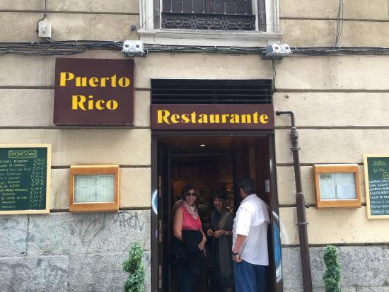 picture of restaurante puerto rico madrid