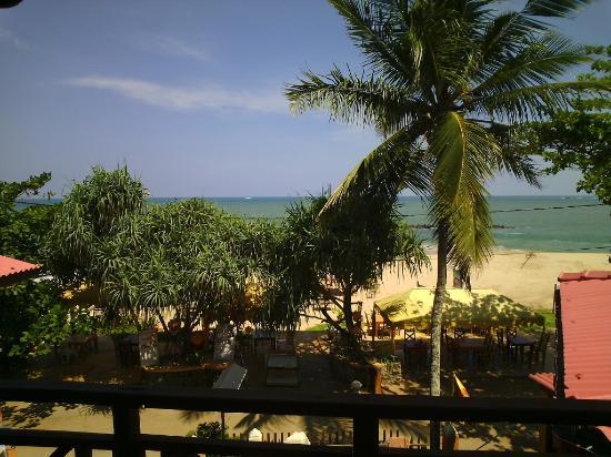Blue Horizon Hotel: La vue du balcon