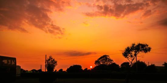Sextons Caravan and Camping Park: the west cork sunset