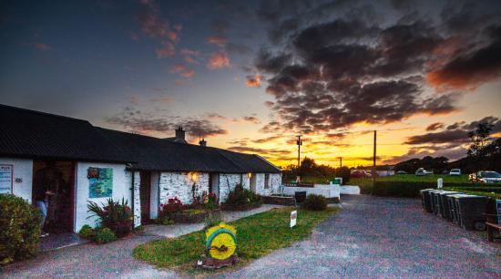 Timoleague, Irlanda: magic sunsets from the site