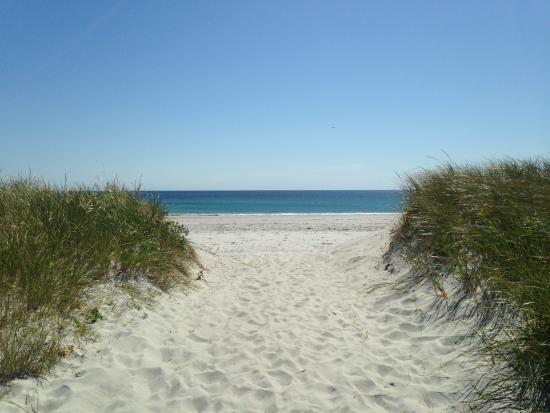 Cape Sable Island, Canada: Path to Daniels beach