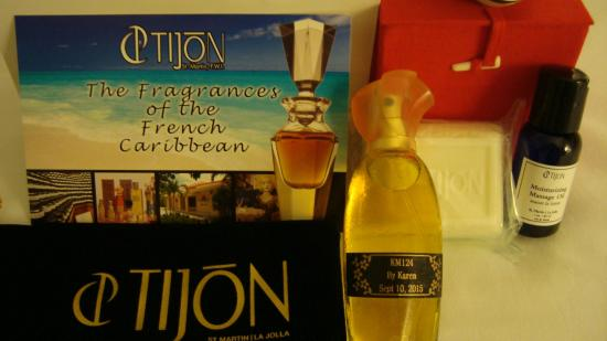 Tijon Perfume Creation Experiences: Bottle of Perfume I created