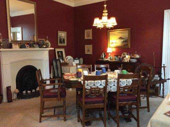 Little York Bed & Breakfast: Dining room