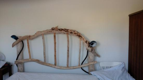 thebay furniture. By The Dock Of Bay Cottages: Comfy Bed Driftwood Headboard Thebay Furniture T