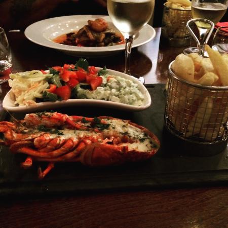 Seventy One: Half lobster salad
